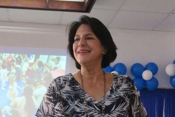 Dr. Theresa Ordóñez leitet das Kinderzentrum in Guayaquil