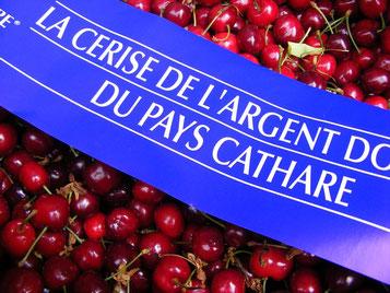 cerise pays cathare dans l'Aude
