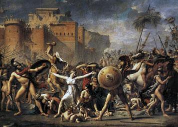 Les Sabines, Jacques-Louis David