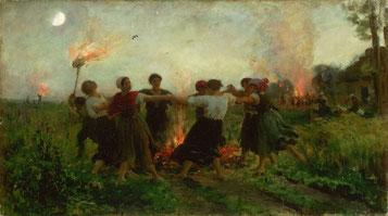 Fête de la Saint-Jean, Jules Breton