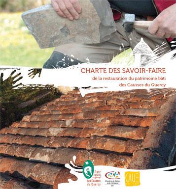 Charte des savoir-faire de la restauration du patrimoine bâti des Causses du Quercy