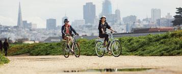 Gemütlich cruisen mit den e-Bikes von Electra