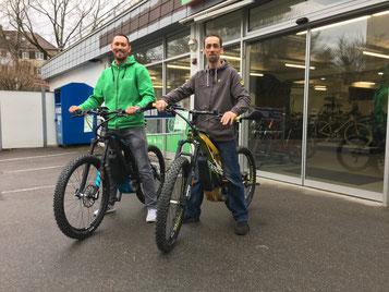 e-Bikes von M1 Sporttechnik erhältlich in der e-motion e-Bike Welt Stuttgart