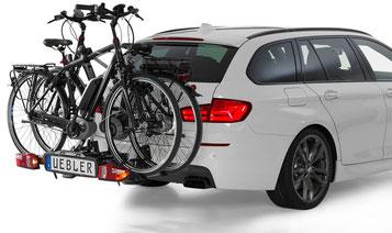 Uebler Fahrradheckträger – So transportieren Sie Ihr e-Bike