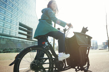 Urban Arrow e-Bikes und Pedelecs in der e-motion e-Bike Welt in Hanau