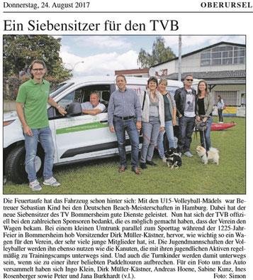 e-motion e-Bike Welt Frankfurt ist Sponsor des TVB