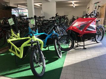 Sichern Sie sich ein Lasten e-Bike von Riese & Müller