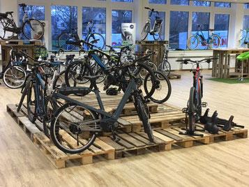 Verkaufsoffener Sonntag am 11.12.2016 in der e-motion e-Bike Welt Bielefeld