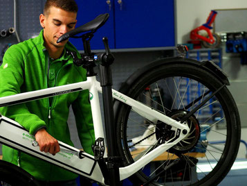 e-Bike Inspektion und e-Bike Reparatur