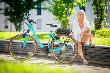Kostenlose Probefahrt mit einem e-Bike