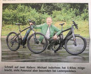 e-Cross Rallye mit e-Bikes von e-motion Bielefeld