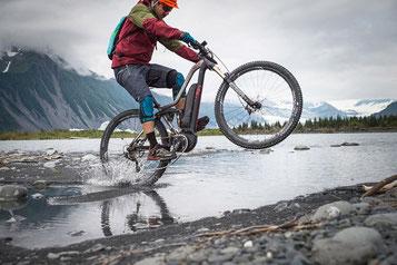Sportliche e-Mountainbikes von BH Bikes gibt es in Kleve