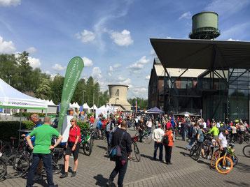 Fahrradsommer 2017 mit der e-motion e-Bike Welt Bochum