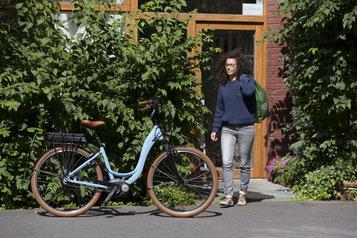 Wir liefern Ihnen Ihr e-Bike auch nach Hause