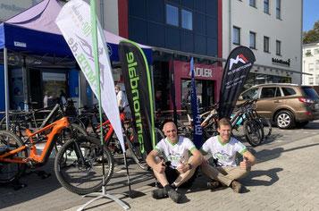 Das Team der e-motion e-Bike Welt Herdecke beim Herdecker Fitness- & Gesundheitstag