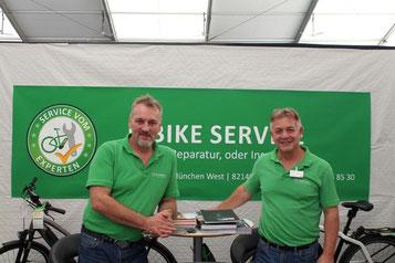 Service und Beratung vom e-Bike Experten in der e-motion e-Bike Welt München-West