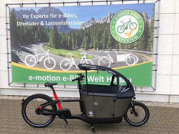 Carqon in der e-motion e-Bike Welt Hanau