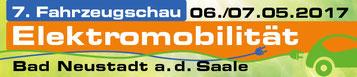 Fahrzeugschau Elektromobilität in Bad Neustadt a. d. Saale mit e-Bikes von e-motion