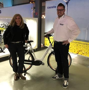 125 Jahre Gazelle e-motion e-Bike Welt Düsseldorf