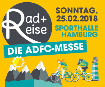 ADFC Messe in Hamburg mit e-Bikes von e-motion Hamburg