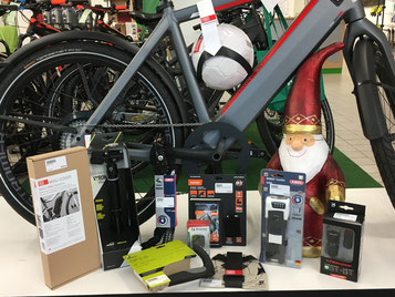 e-Bike Zubehör: Sinnvolle Weihnachtsgeschenke