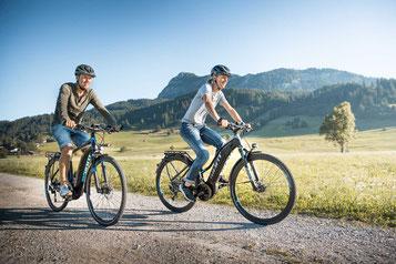 Ein vielfältiges Giant Sortiment gibt es im e-motion e-Bike Premium Shop Köln