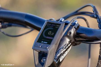 Mit Hilfe des Bosch KIOX Display, haben sie Strecke und Zeit jederzeit im Blick.