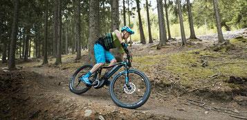 e-Mountainbikes von Giant Probe fahren in Tuttlingen
