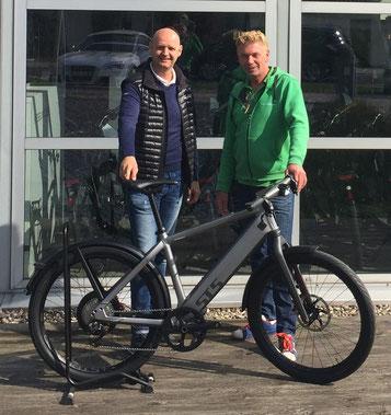 Stromer ST5 45km/h Trekking e-Bike Speed-Pedelec kaufen und Probefahren in Düsseldorf bei Ihrem e-Bike Experten