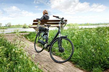 e-Bike fahren ist sauber, gesund und nachhaltig