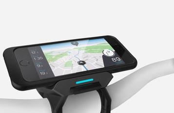 Das COBI.bike System liefert Ihnen während der Fahrt Echtzeit Daten