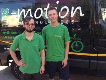 Verstärkung in der e-motion e-Bike Welt Stuttgart