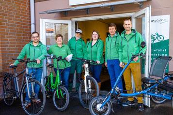 Fahrradmesse in Kiel mit e-Bikes von e-motion