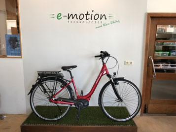 Möbel Gradinger und e-motion e-Bike Welt Worms verlosen ein e-Bike von Hercules