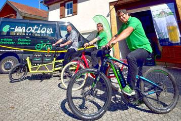 e-Bike Erlebnisse mit Pedelecs, Elektrofahrrädern, Segways und Elektro-Dreirädern für Erwachsene in Rietheim bei Tuttlingen