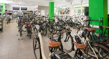 Erleben Sie eine riesige e-Bike Auswahl in der e-motion e-Bike Welt München Süd