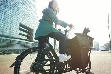 Urban Arrow e-Bikes und Pedelecs in der e-motion e-Bike Welt in Frankfurt