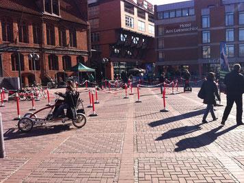 """Altstadt elektrisiert unter dem Motto """"Lust auf Fahrrad"""""""