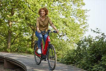 e-Bike fahren für Gesundheit und Umweltschutz