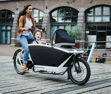 Lastenradförderung in Hamburg
