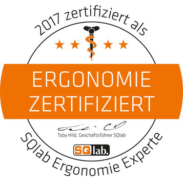 e-motion Filiale Berlin-Mitte ist SQlab Ergonomie-Zertifiziert!