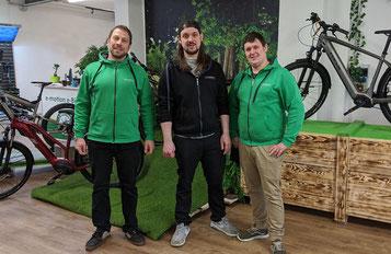 Das Team der e-motion e-Bike Welt Halver berät Sie gerne!