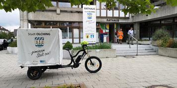 Lasten e-Bike Stadt Olching