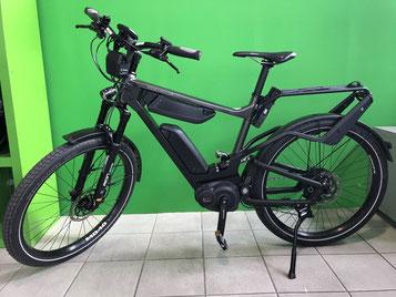 Brandneu ausgewählt von Riese und Müller und Bosch: Das erste e-Bike von Riese und Müller mit ABS zum testen in der e-motion e-Bike Welt Düsseldorf