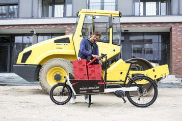 Sichern Sie sich die Lasten e-Bike Förderung