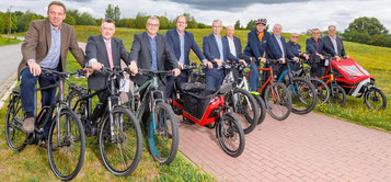 Der Radwege TÜV gesponsort von der e-motion e-Bike Welt Ahrensburg