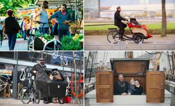 Triobike 2019: Lasten e-Bikes ersetzen ein Auto