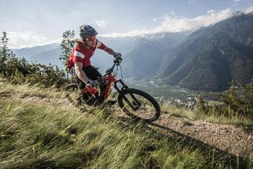 Unterwegs im Harz mit einem e-Mountainbike von Haibike