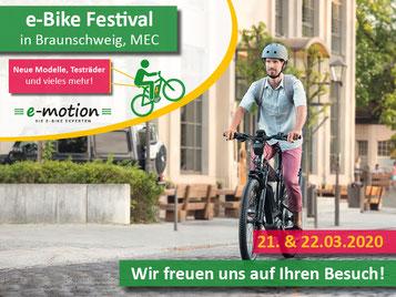 Die e-Bike Highlights 2020 beim Fahrrad Festival Braunschweig