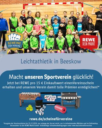 Werbeplakat des vergangenen Jahres (REWE & Hagen Pohle)